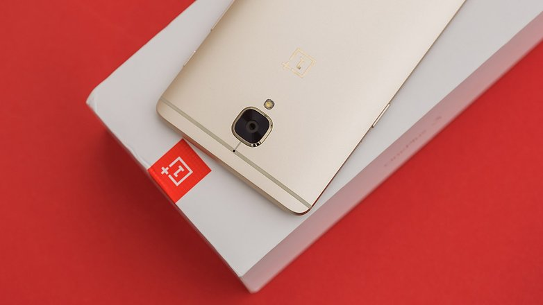 AndroidPIT OnePlus3 soft gold 6545