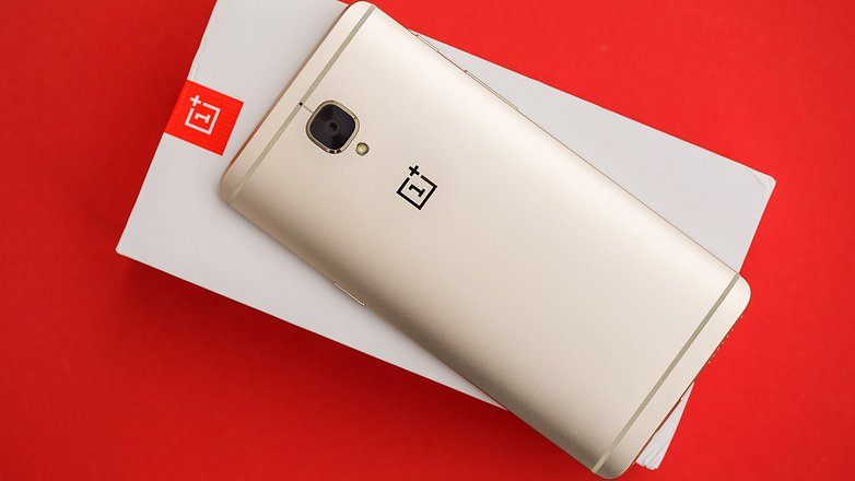 AndroidPIT OnePlus3 soft gold 6551