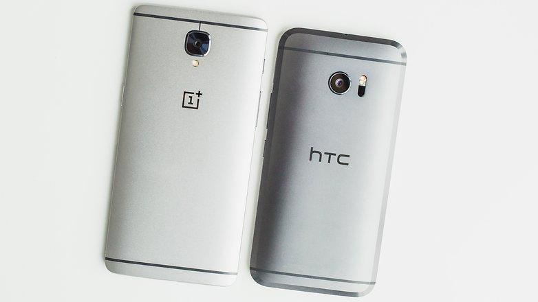 AndroidPIT oneplus 3 vs HTC 10 7900