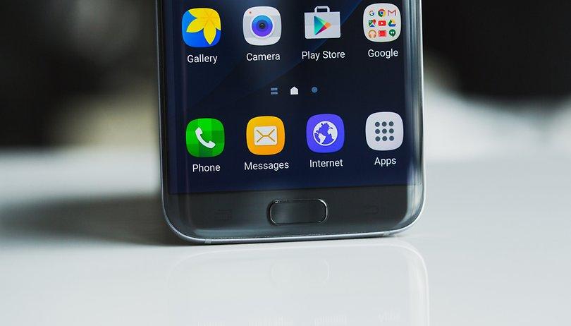 Leitor de impressões digitais do Galaxy S7 deve ficar mais inteligente no Nougat