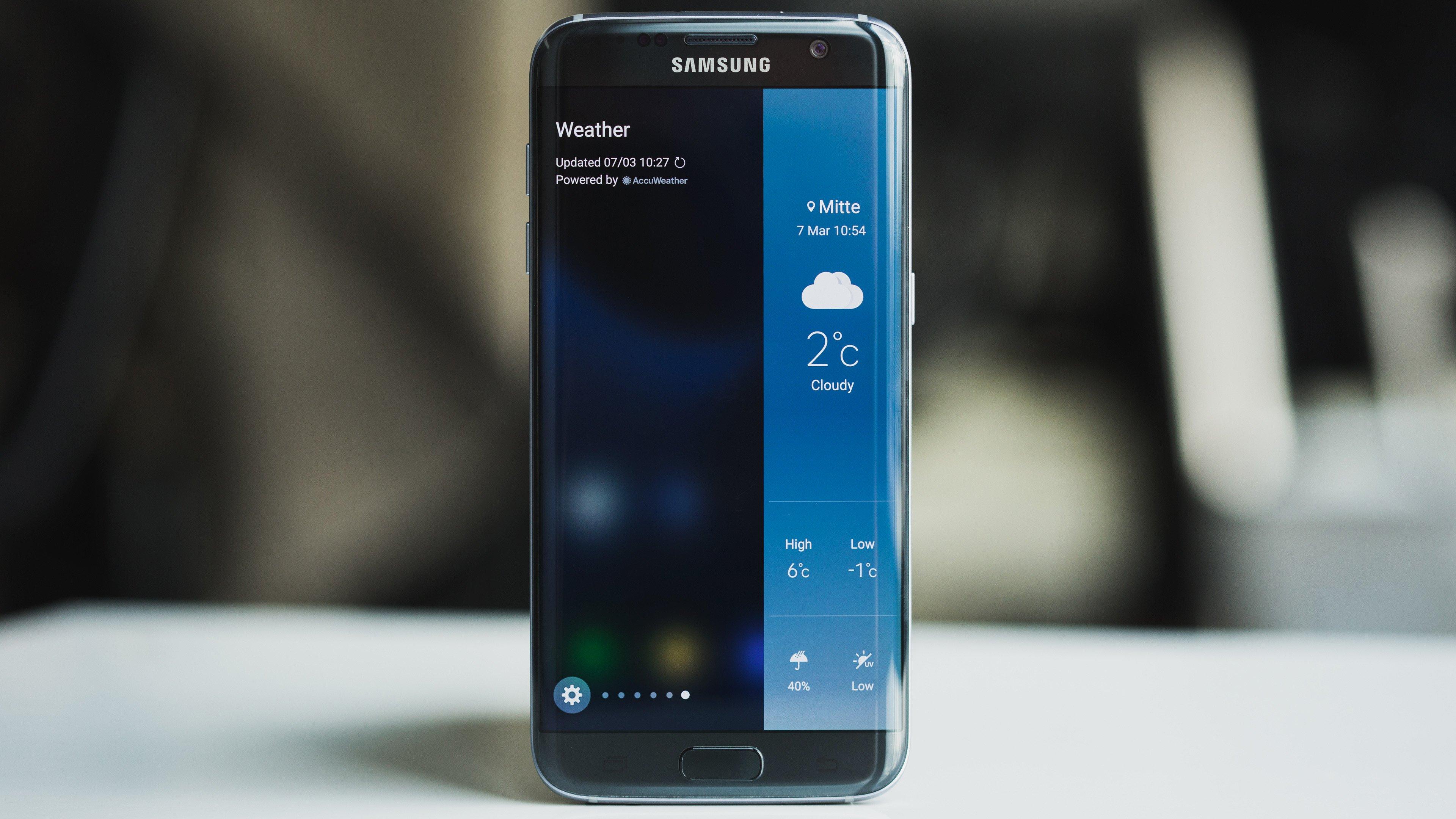 Ative ou desative o GPS no Samsung Galaxy S7 edge Android 6.0