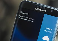 Galaxy S7 Edge está apresentando problema na tela com linha rosa