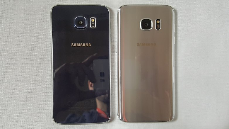 test comparatif samsung galaxy s7 vs galaxy s6 androidpit. Black Bedroom Furniture Sets. Home Design Ideas