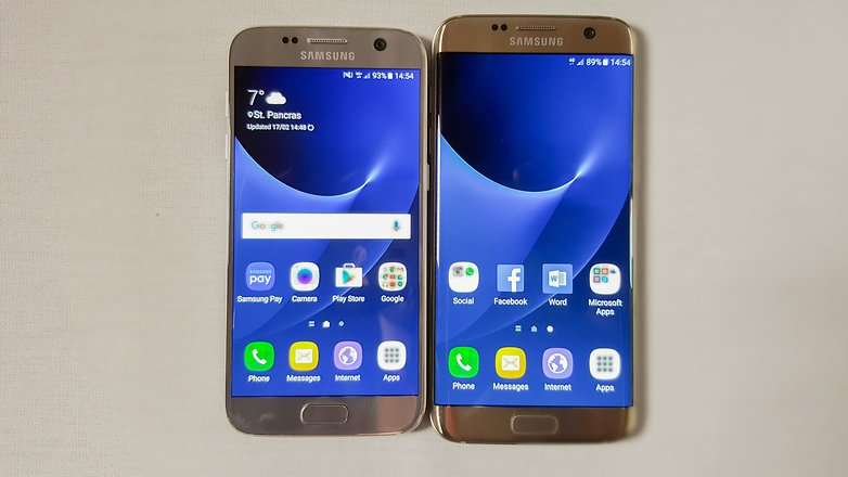AndroidPIT Samsung Galaxy S7 vs S7 edge 1