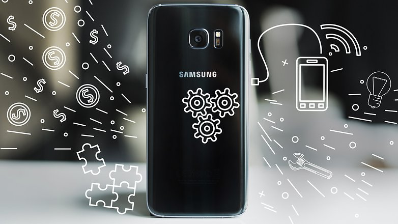 AndroidPIT Samsung galaxy s7 edge tips and tricks