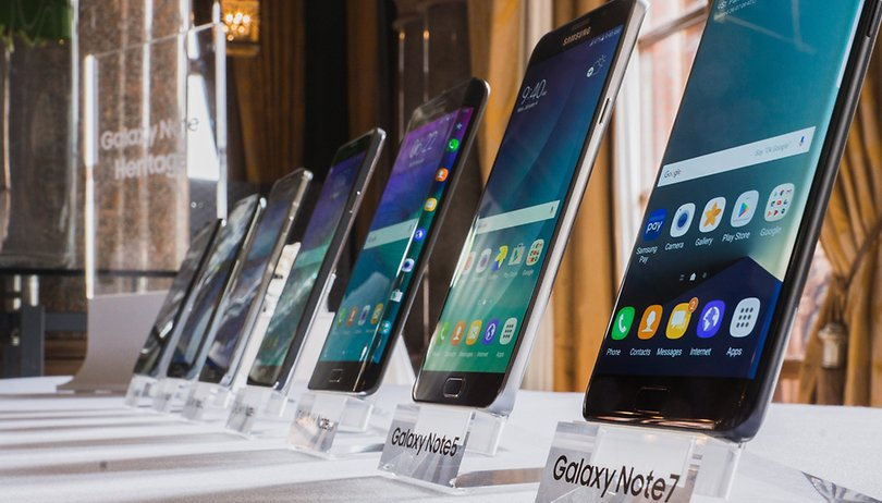 Smartphone evolution: the Galaxy Note series