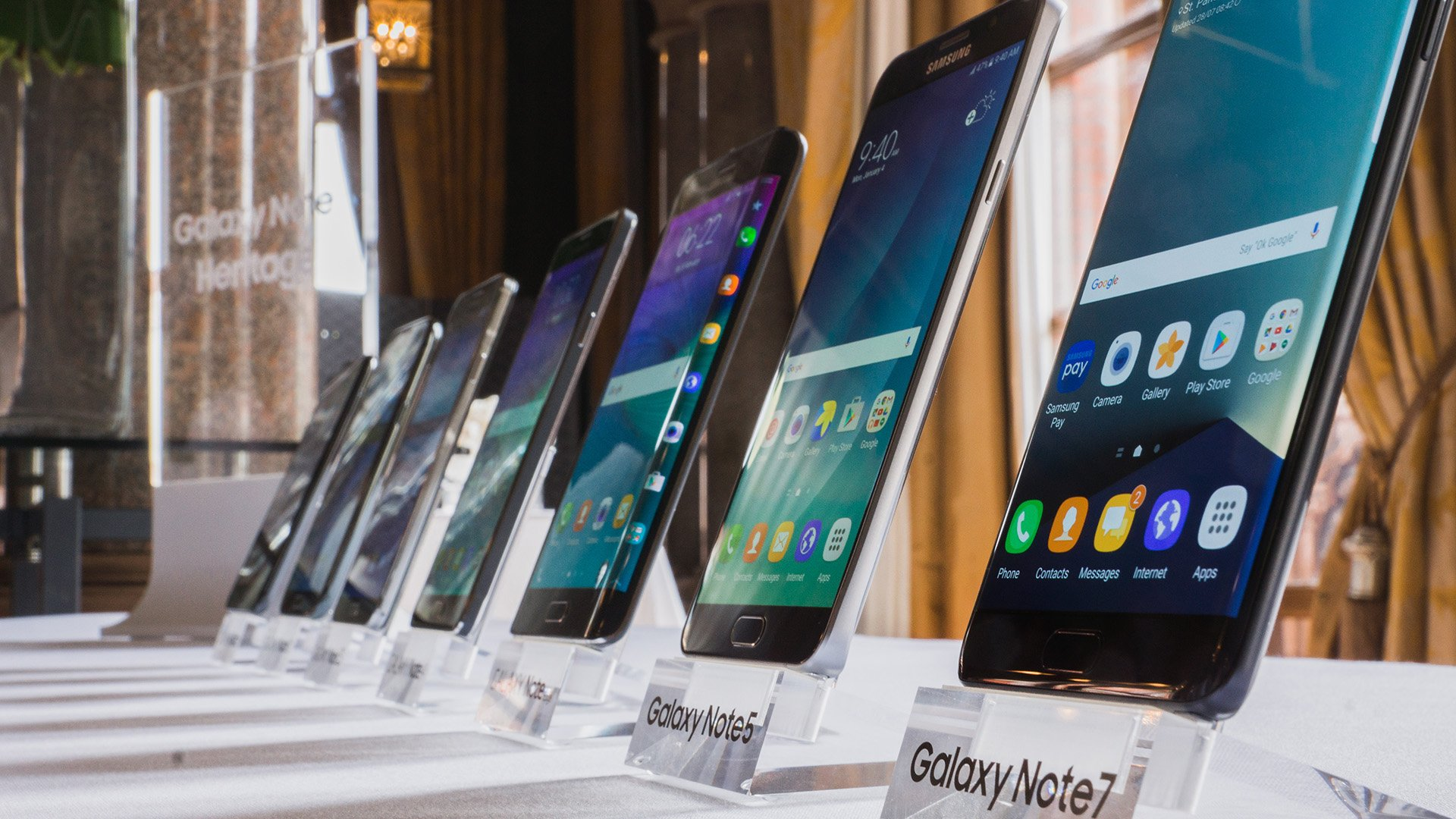 Smartphone Evolution The Galaxy Note Series Androidpit