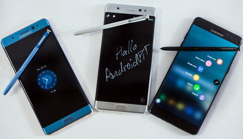 Faut-il remettre en question la solidité du Galaxy Note 7 ?