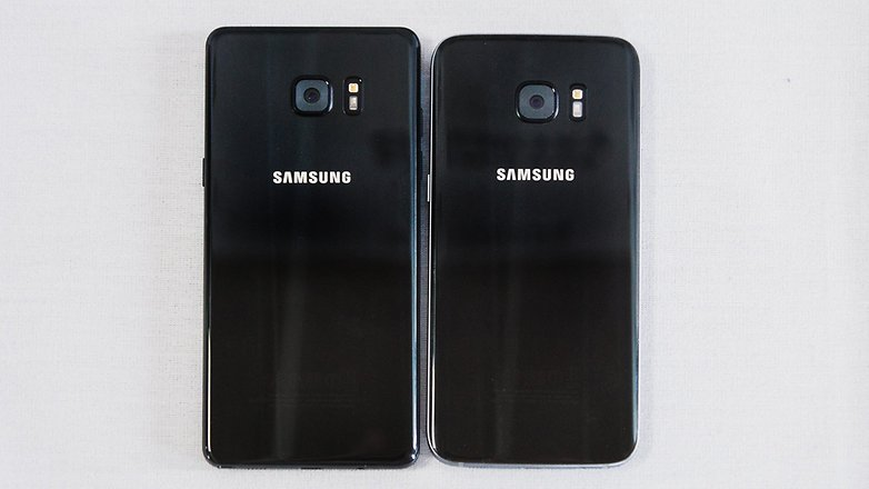 AndroidPIT Samsung Galaxy S7 edge vs Note7 event 2 3