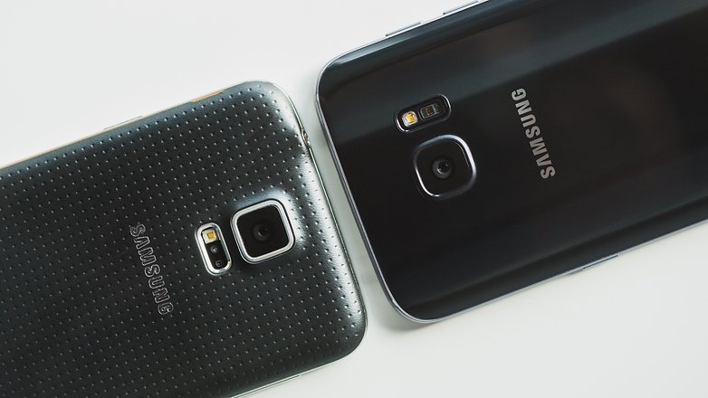 samsung galaxy s5 white vs black. androidpit samsung galaxy s5 vs s7 10 white black