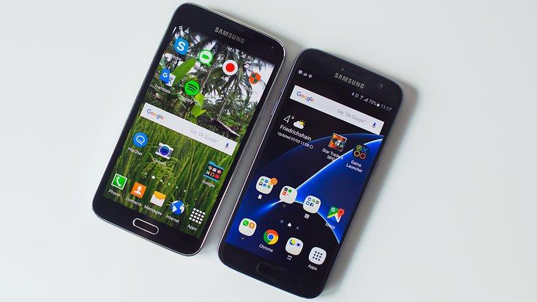 AndroidPIT Samsung galaxy s5 vs Samsung galaxy S7 6