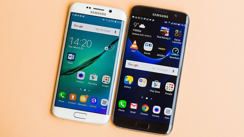 Samsung Galaxy S7 (Edge) vs. Galaxy S6 (Edge)