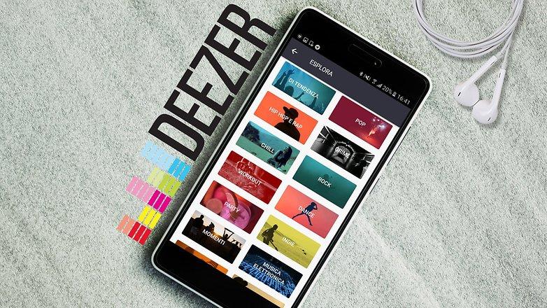 ANDROIDPIT deezer app