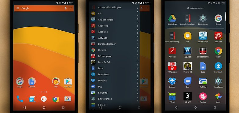 AndroidPIT ACTION Launcher 1