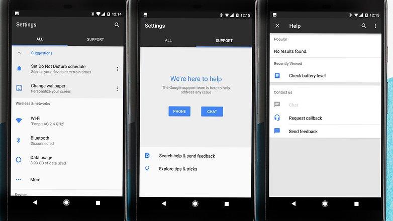 AndroidPIT Google pixel XL help tripple