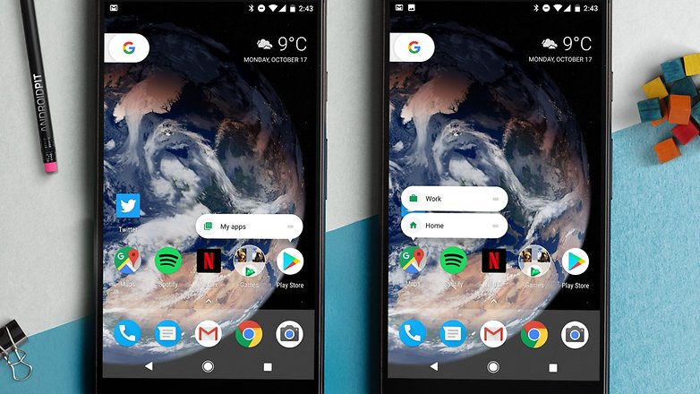 AndroidPIT Google pixel XL home