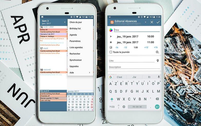 AndroidPIT Google pixel calendar 1