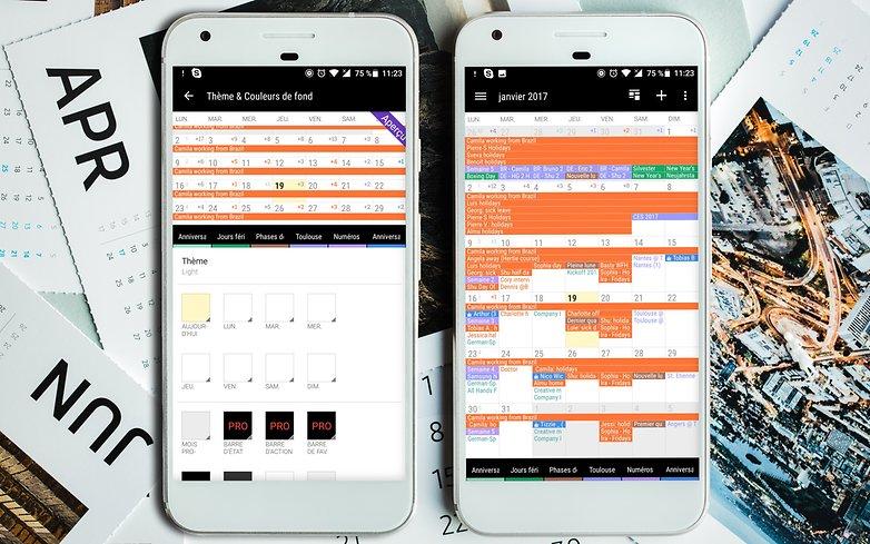 AndroidPIT Google pixel calendar 3