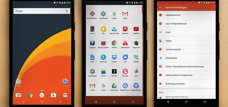 AndroidPIT screenshots nova launcher