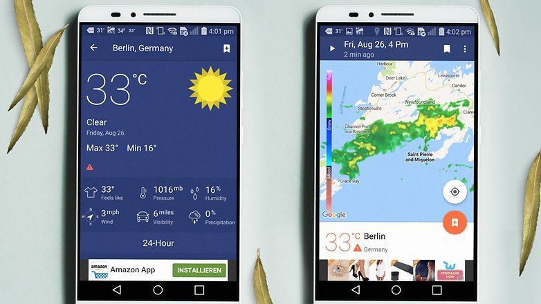 what is the best weather app for iphone 10 best weather apps and widgets for android androidpit 21221