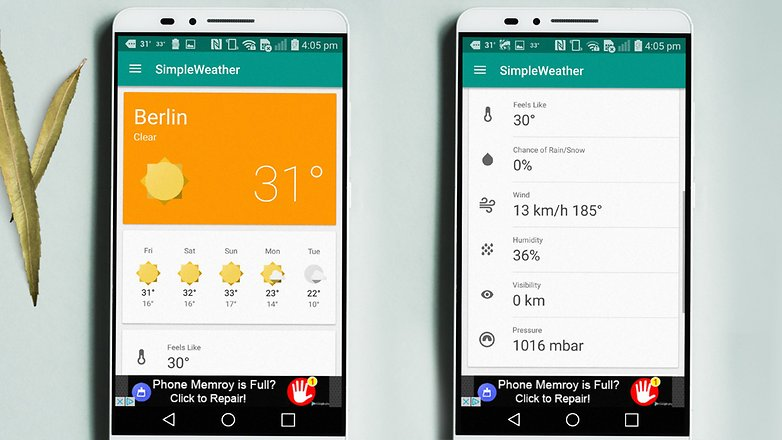 AndroidPIT weather apps 12