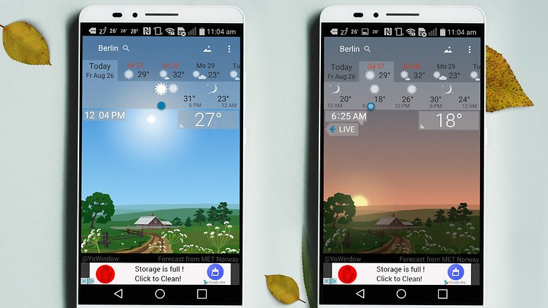 best weather app for samsung galaxy s6