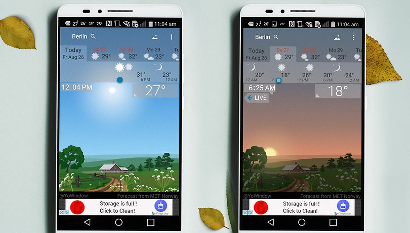 The best weather apps and widgets for Android | AndroidPIT