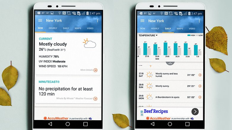 AndroidPIT weather apps 4
