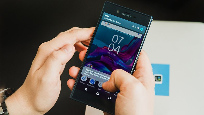AndroidPIT Sony XZ X compact 7222