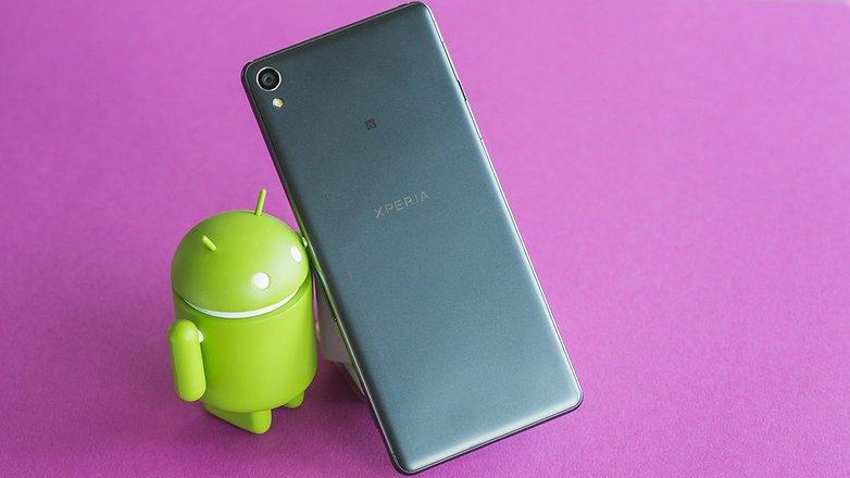 AndroidPIT Sony Xperia XA 9432