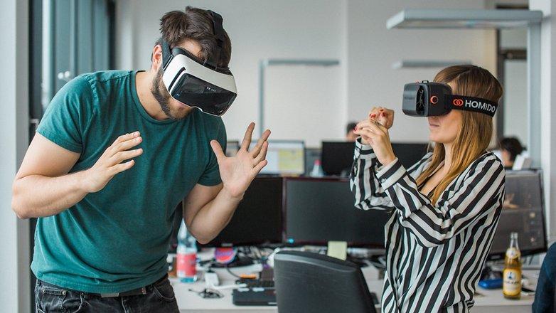 ANDROIDPIT VR glasses 11