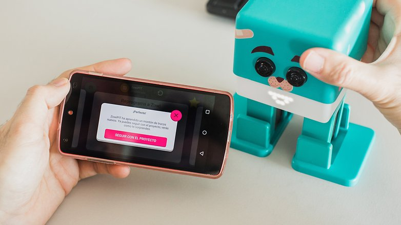 AndroidPIT Zowi advance 5