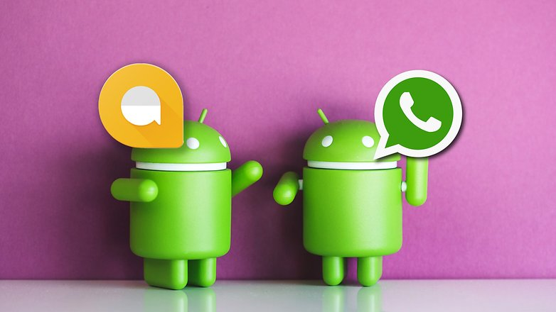 AndroidPIT allo vs whatsapp 3