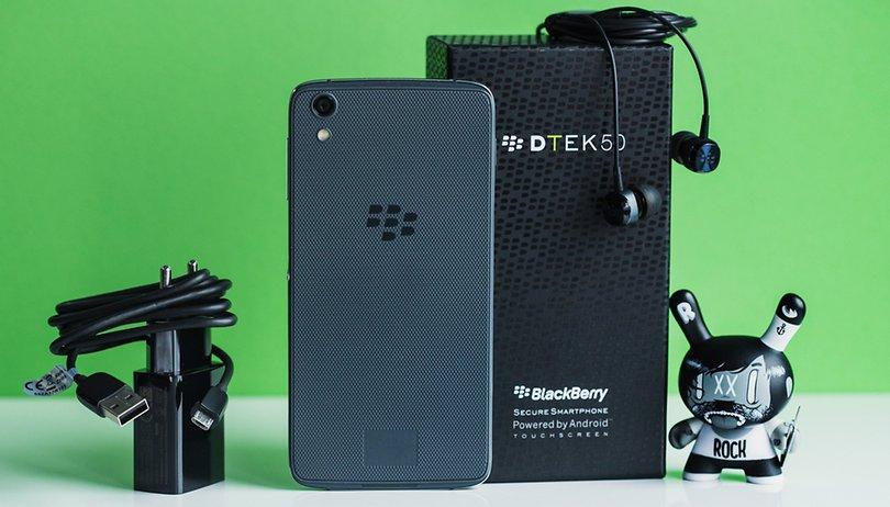 Análisis de BlackBerry DTEK50: Apostando sobre seguro