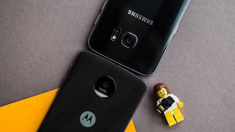 AndroidPIT galaxy s7 edge vs lenovo moto z 0249