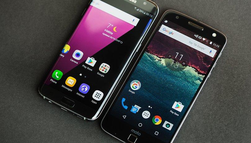 Lenovo Moto Z vs Samsung Galaxy S7 Edge: has David met his Goliath?