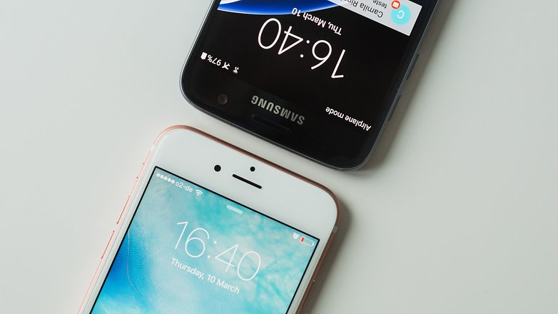 AndroidPIT galaxy s7 vs iphone 6 10