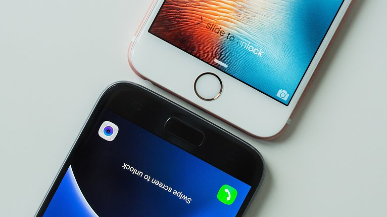 AndroidPIT galaxy s7 vs iphone 6 11