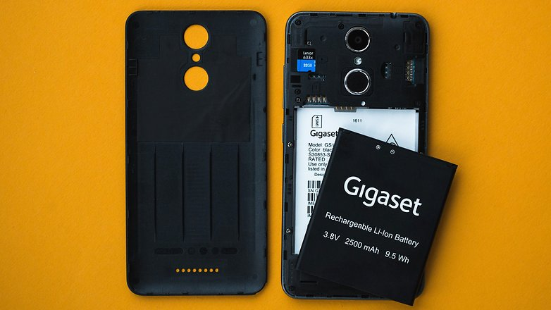 AndroidPIT gigaset gs160 review 2500
