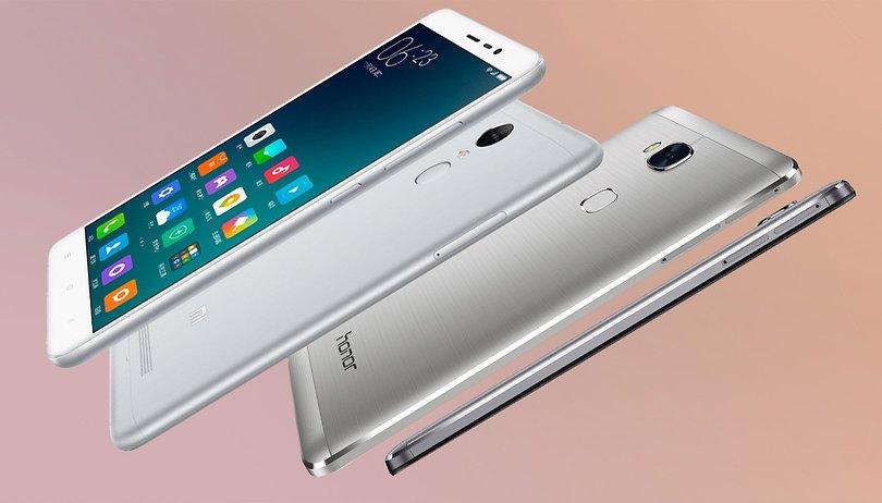 Honor 5x vs Xiaomi Redmi Note 3 comparación