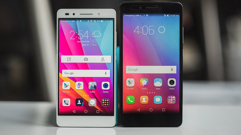 AndroidPIT honor 5x vs honor 7 6