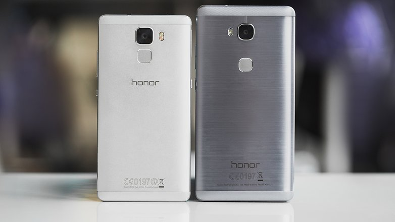 AndroidPIT honor 5x vs honor 7 8