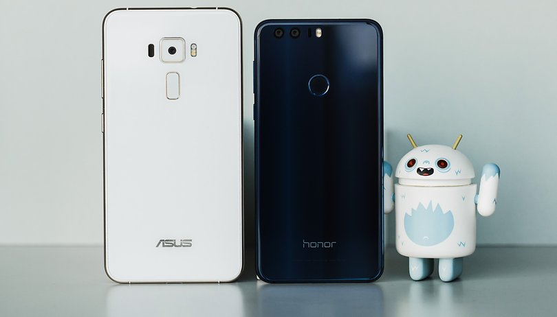 Test comparatif ZenFone 3 vs Honor 8