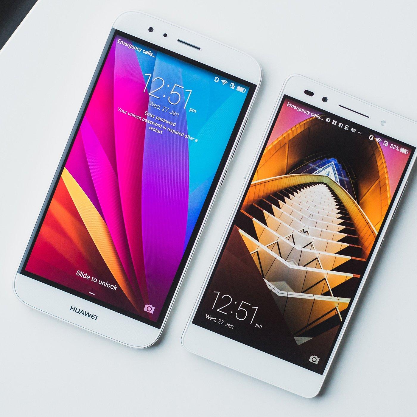 Huawei G8 vs Honor 7: una comparación entre parientes muy