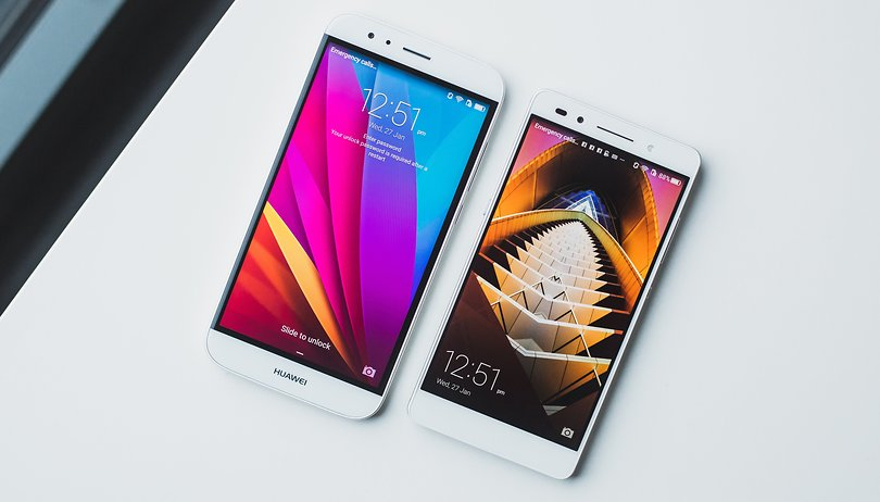Huawei G8 vs Honor 7: una comparación entre parientes muy cercanos