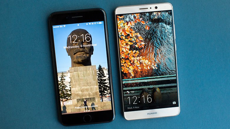 AndroidPIT huawei mate 9 vs iphone 7 plus 1129