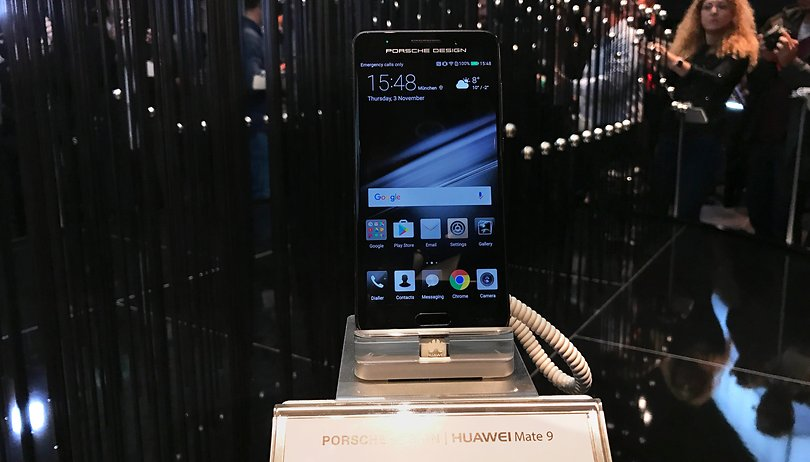 Huawei Mate 9 Porsche Design: what the Mate 9 could have been