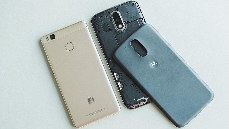 AndroidPIT huawei p9 lite vs moto g4 7087