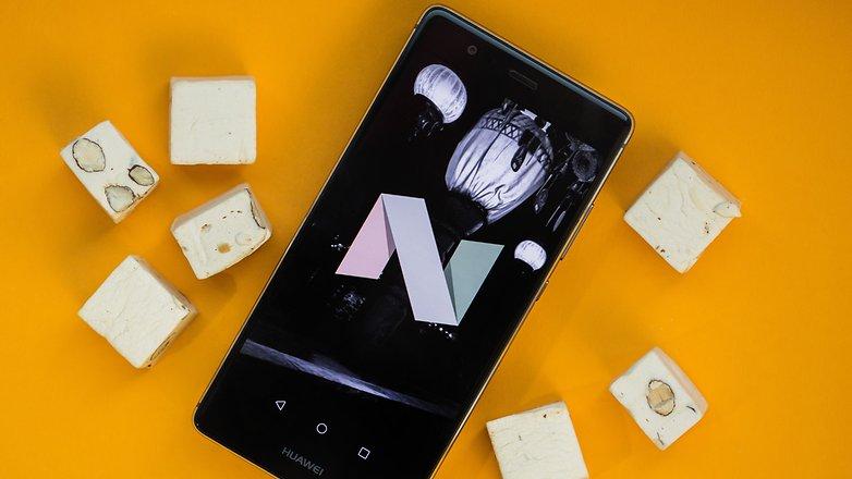 AndroidPIT huawei p9 nougat