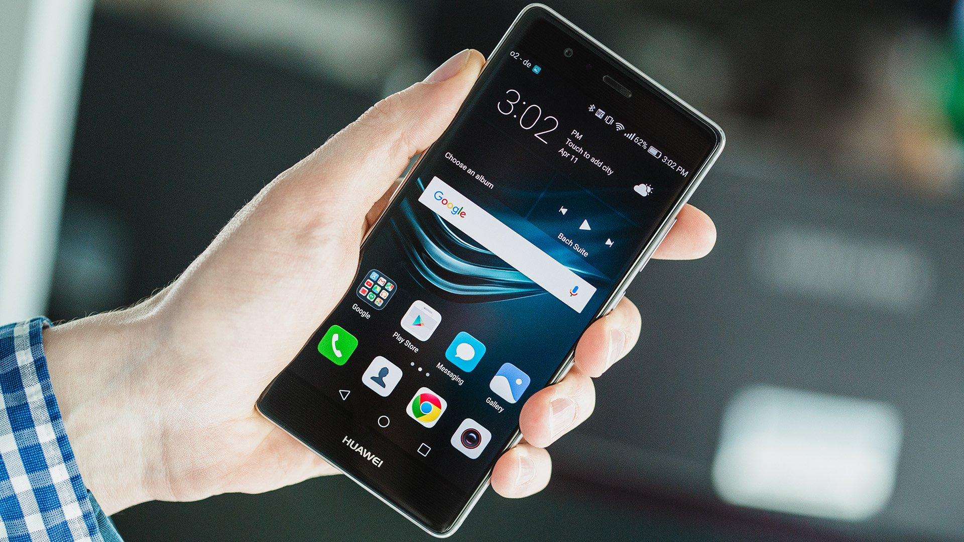 Huawei p9 und p9 lite probleme und l sungen androidpit for Photo ecran huawei p9 lite
